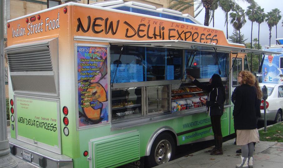 New Delhi Express Food Truck Is Definitely