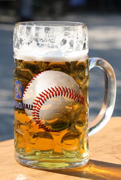 Baseball-beer